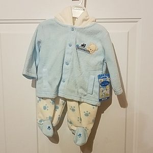 Bon bebe medium 3-6 month fleecy outfit